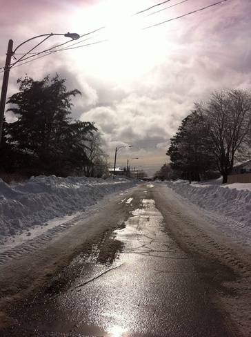 Beautiful day after the storm! Moncton, New Brunswick Canada
