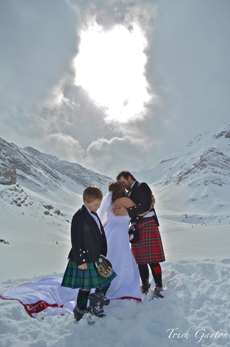 Heli-Wedding in the Rockies