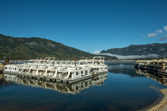 Almost houseboat season! Sicamous 3, British Columbia Canada