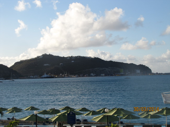 beautiful day in Great Bay Philipsburg, Netherlands Antilles