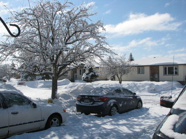 Sunny April Spring Day in Sudbury Ontario Greater Sudbury, Ontario Canada