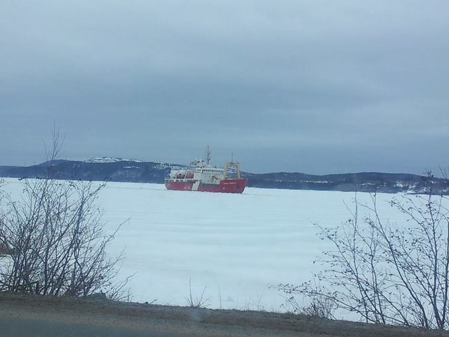 Ice Breaker Glovertown, Newfoundland and Labrador Canada