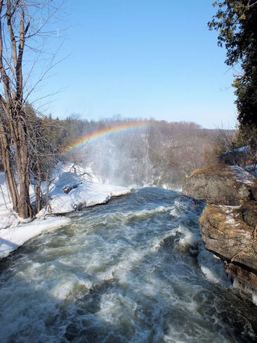 Sunshine, Waterfalls, and Rainbows! Owen Sound, Ontario Canada