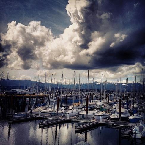 Comox Pier Comox Valley, British Columbia Canada