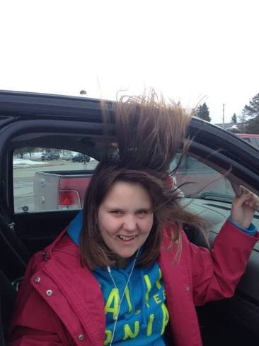 A Little Windy Today! Dryden, Ontario Canada