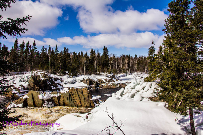 Springtime at The Guzzle Bishop's Falls, Newfoundland and Labrador Canada