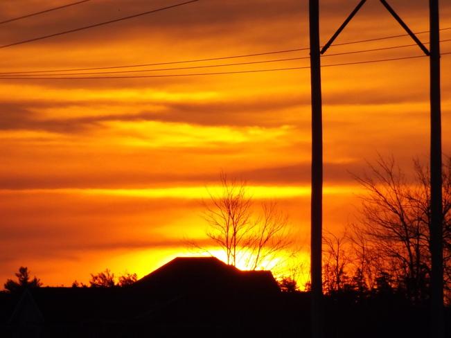 sun-up New Minas, Nova Scotia Canada