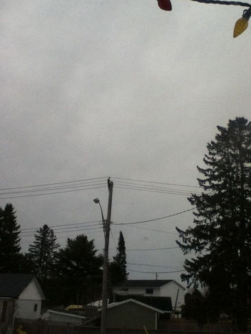 90 pecent chance of rain Sault Ste. Marie, Ontario Canada