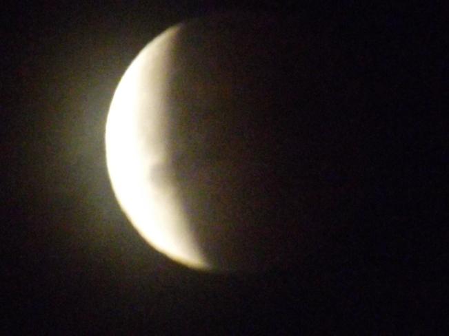 eclipse New Minas, Nova Scotia Canada