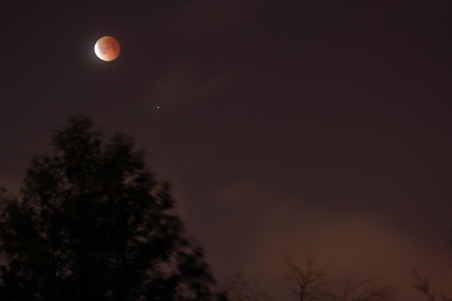 Blood Moon April 15, 2014 Dieppe, New Brunswick Canada