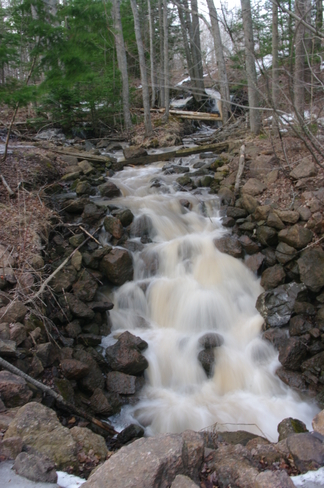 Spring run-off Moncton, New Brunswick Canada