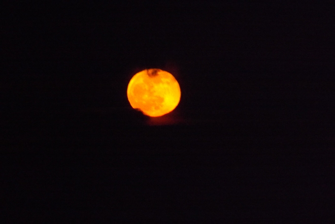 Easter week full moon Thunder Bay, Ontario Canada