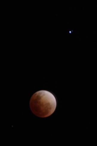 Perfect Night for A Lunar Eclipse Winnipeg, Manitoba Canada