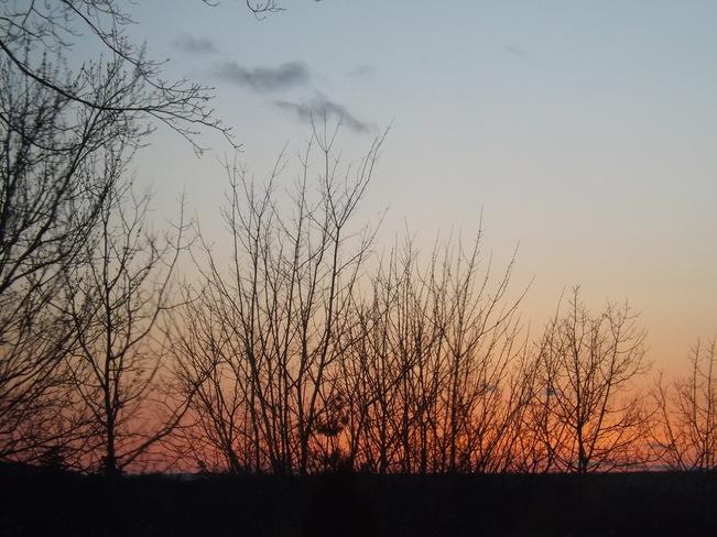 sunset New Minas, Nova Scotia Canada