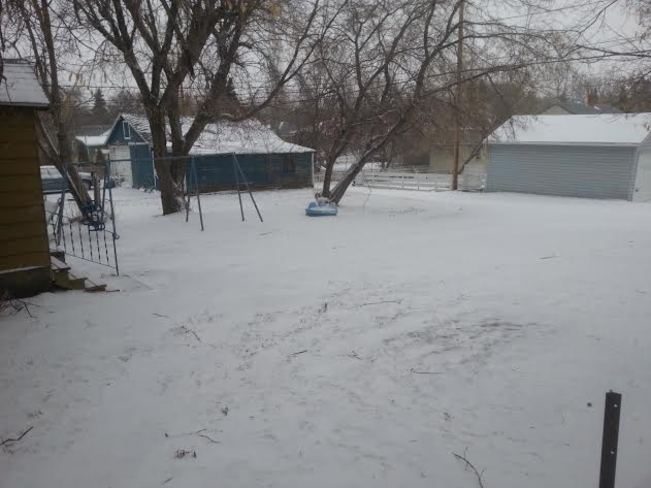 Not your usual spring weather North Battleford, Saskatchewan Canada
