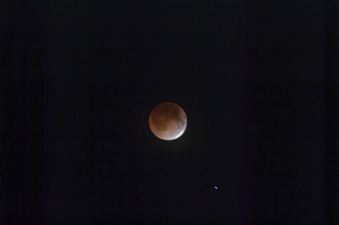 Blood Moon Huntley, Prince Edward Island Canada