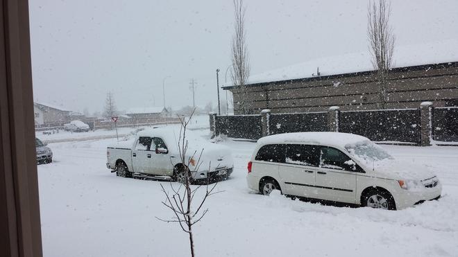 April Showers Red Deer, Alberta Canada