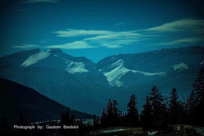 Nerve-shaken Rocky Mountain Edmonton, Alberta Canada