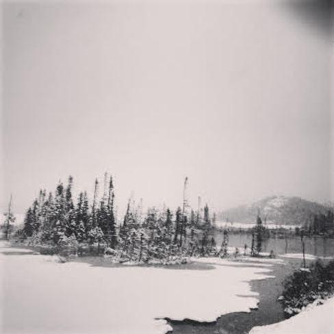 Snow! Hare Bay, Newfoundland and Labrador Canada