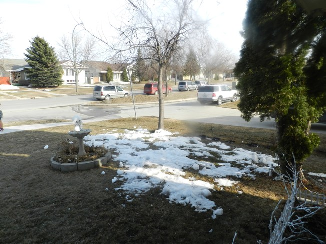 Nice Easter Weather Winnipeg, Manitoba Canada