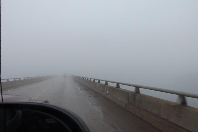 Foggy Pembroke, Ontario Canada