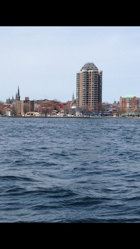 Brickville from the river Brockville, Ontario Canada