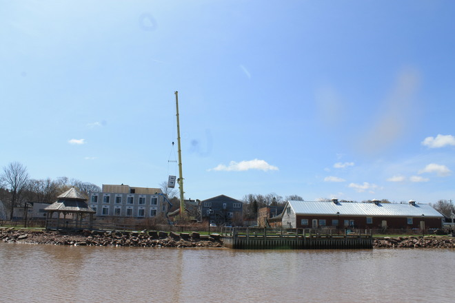 Wolfville Waterfront Changes Wolfville, Nova Scotia Canada