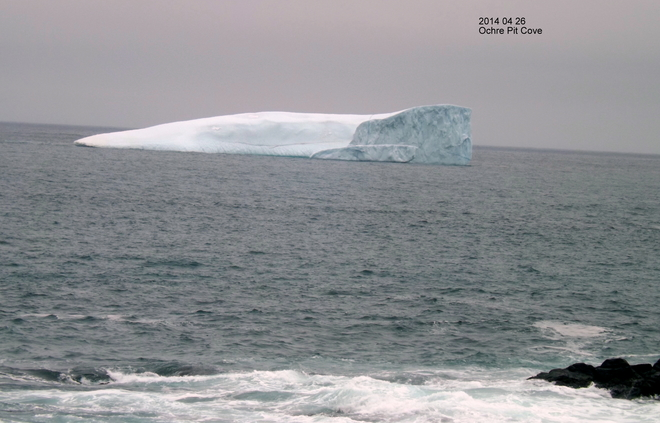 Iceberg At Ochre Pit Cove, NL Lower Island Cove, Newfoundland and Labrador Canada