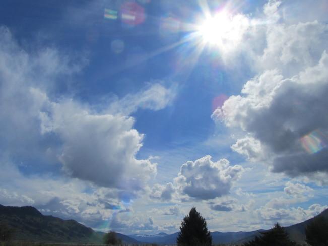 Spring sunday Vernon, British Columbia Canada