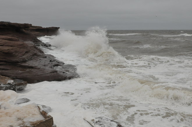 Another cold, windy and wet day in the Maritimes.