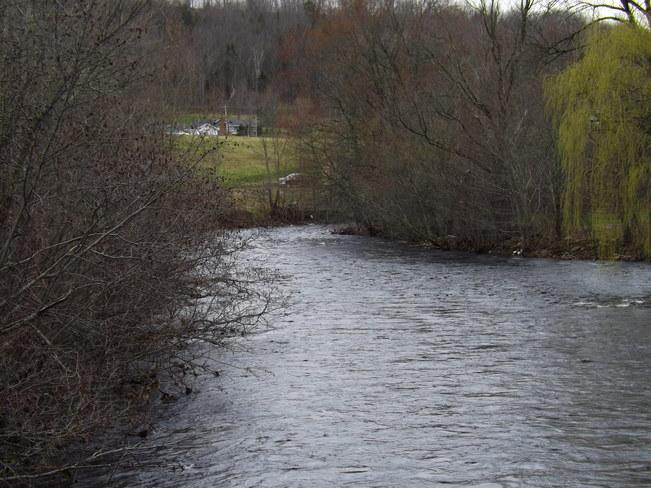 gaspereau river Wolfville, Nova Scotia Canada