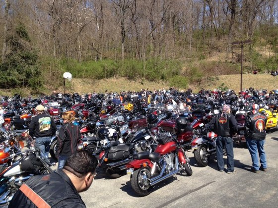 Blessing of the Bikes 4/27/14
