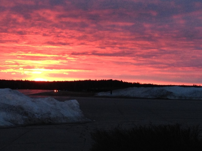 Sunset Sioux Lookout, Ontario Canada