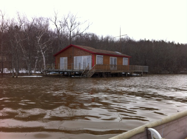 high water Rothesay, New Brunswick Canada