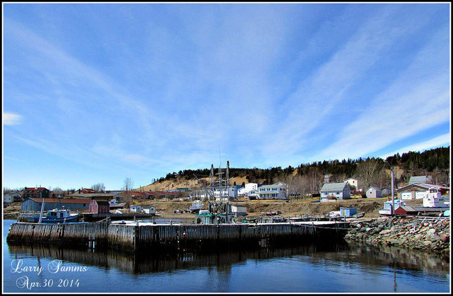 """Beautiful Sunny Afternoon"" Springdale, Newfoundland and Labrador Canada"