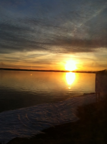 sunset in Davidsville, NL Carmanville, Newfoundland and Labrador Canada
