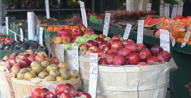 fresh produce @ Pusatari's on Church st. Toronto, Ontario Canada