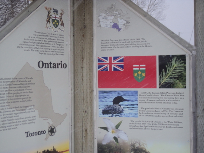 """""""Trail Markers - Ontario"""""""