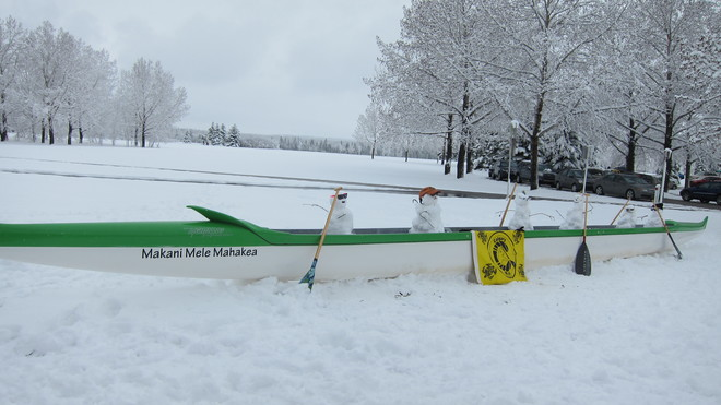 Paddling season in Calgary Calgary, Alberta Canada