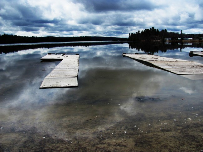 Dock Gone It! Elliot Lake, Ontario Canada