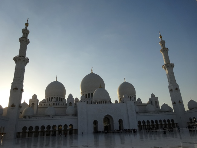 Sheikh Zayed Mosque Abu Dhabi, United Arab Emirates