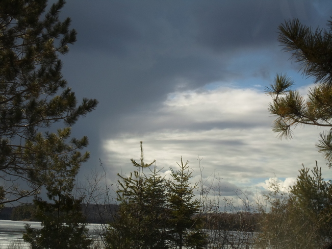 Storm Front Edge/Coming in E.L/ Elliot Lake, Ontario Canada
