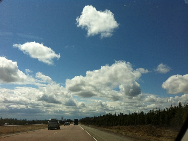 Beautiful Drive Home Moncton, New Brunswick Canada