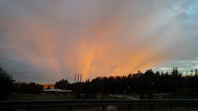 Morning sunrise Rosseau, Ontario Canada