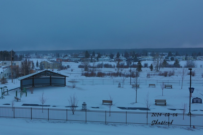 This too will pass, I hope Swan Hills, Alberta Canada