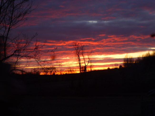Gorgeous Spring Sunset Campbellford/Seymour, Ontario Canada