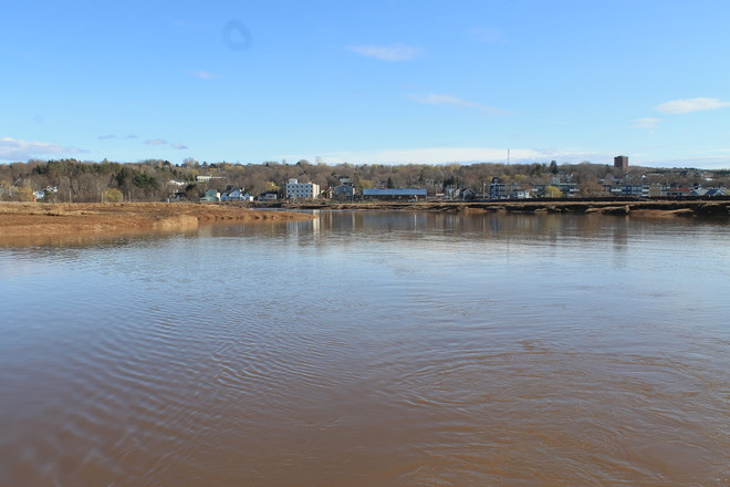 Wolfville Channel is Priceless Wolfville, Nova Scotia Canada
