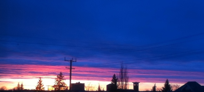 Is that a Sunset! Brandon, Manitoba Canada