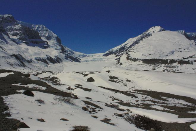 Hike to the Toe of Glacier Jasper, Alberta Canada