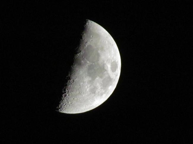 no meteor, just moon!